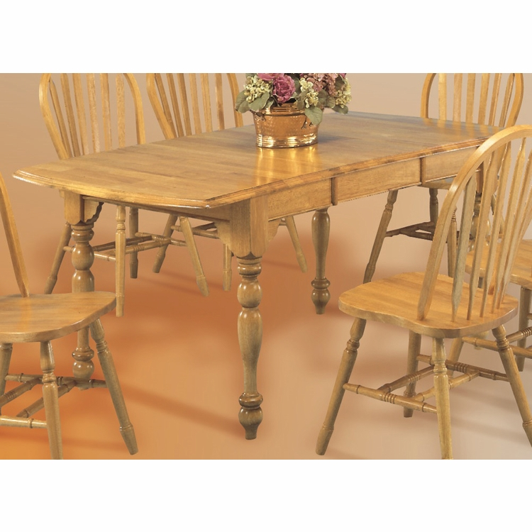 Drop Leaf Extension Dining Table