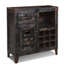 Sunset Trading - Graphic 9 Bottle Wine Cabinet - HH-8725-150