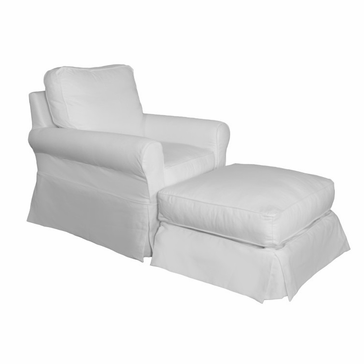Prime Sunset Trading Horizon Slipcovered Swivel Rocking Chair And Ottoman Performance White Su 114993 30 391081 Forskolin Free Trial Chair Design Images Forskolin Free Trialorg