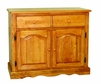 Sunset Trading - Keepsake Buffet in Light Oak Finish - DLU-19-BUF-LO