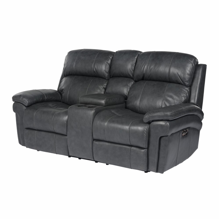 Marvelous Sunset Trading Luxe Leather Reclining Loveseat With Power Headrest And Console Su 9102 94 1394 73 Caraccident5 Cool Chair Designs And Ideas Caraccident5Info