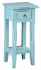 Sunset Trading - Shabby Chic Cottage Accent Table Beach Blue - CC-TAB1792LD-BB