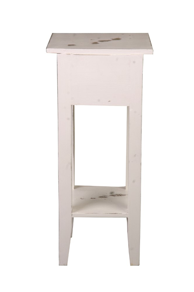 Sunset Trading Shabby Chic Cottage Narrow Side Table Antique Black Raftwood Cc Tab1792tld Abrw