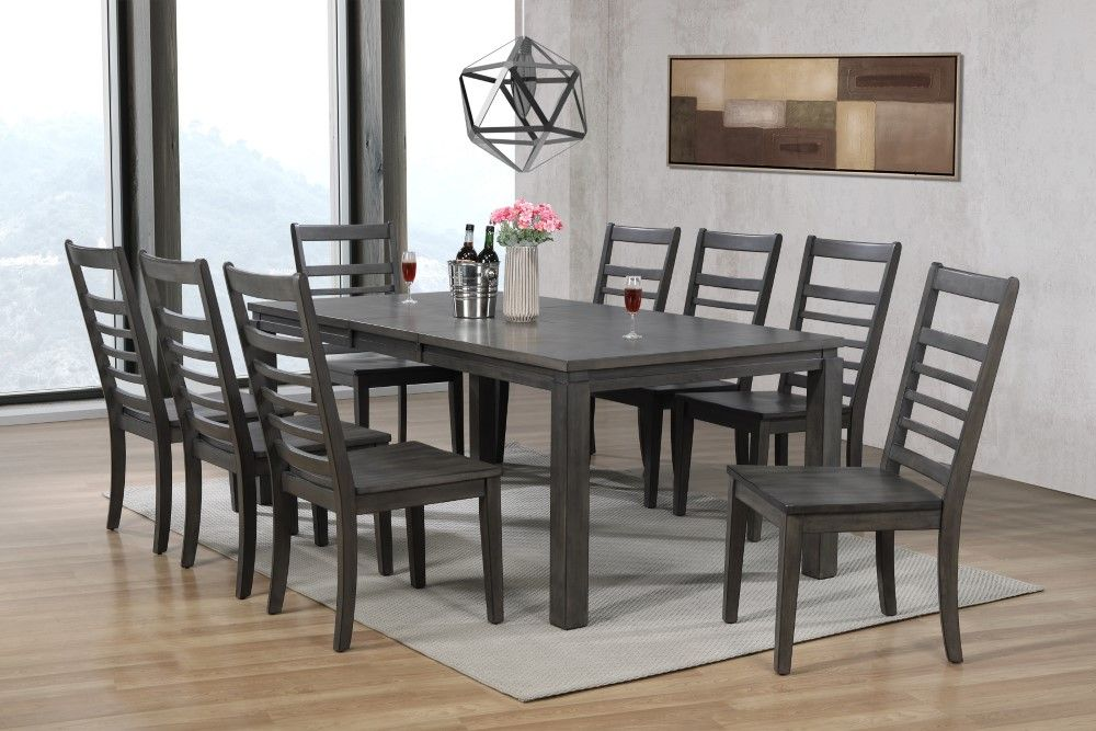 9 Piece Dining Room Sets Wild Country, Nine Piece Dining Room Table Set