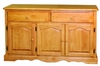 Sunset Trading - Treasure Buffet in Light Oak Finish - DLU-22-BUF-LO