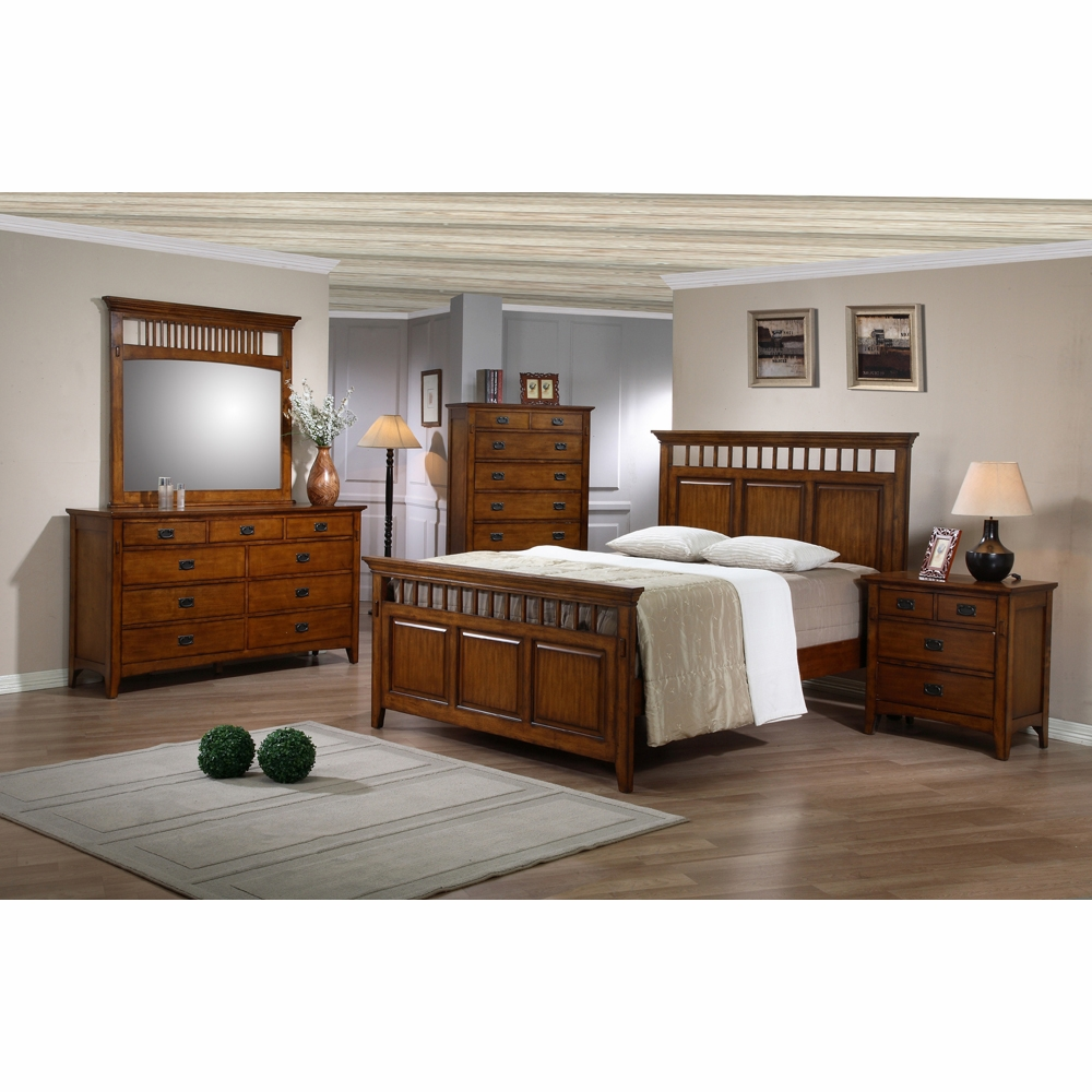 Sunset Trading - Tremont 5 Piece Queen Bedroom Set - SS ...
