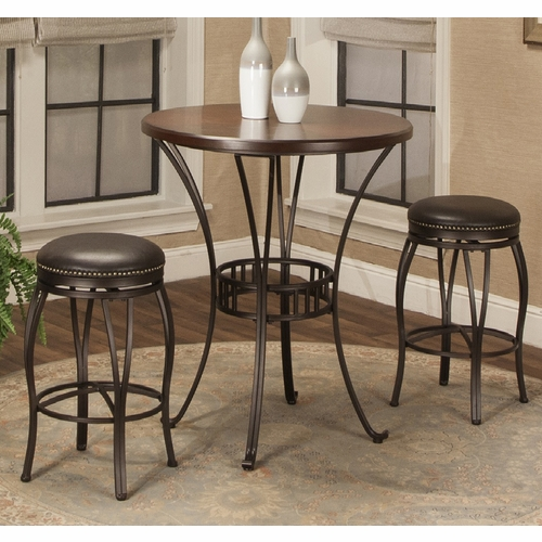 "Sunset Trading - Victoria 42"" Round  Pub Table Set - CR-J3005-42-3PC"