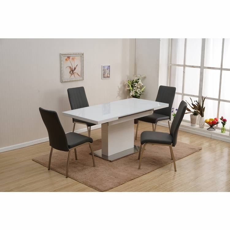 Chintaly - Vanessa 5 Pieces Dining Set Table With 4 Chairs - VANESSA-5PC