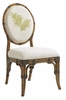 Tommy Bahama Home - Bali Hai Palm Front Back Gulfstream Oval Back Side Chair - 01-0593-880-02