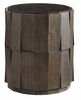 Tommy Bahama Home - Cypress Point Everett Round Travertine End Table - 01-0562-951