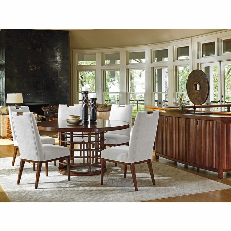 Tommy Bahama Home - Island Fusion 7 Piece Dining Set - 01-556-dining-set-7
