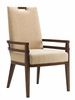 Tommy Bahama Home - Island Fusion Coles Bay Arm Chair in Gold Geometric Fabric - 01-0556-885-01