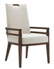 Tommy Bahama Home - Island Fusion Coles Bay Arm Chair in Off White Fabric - 01-0556-885-02