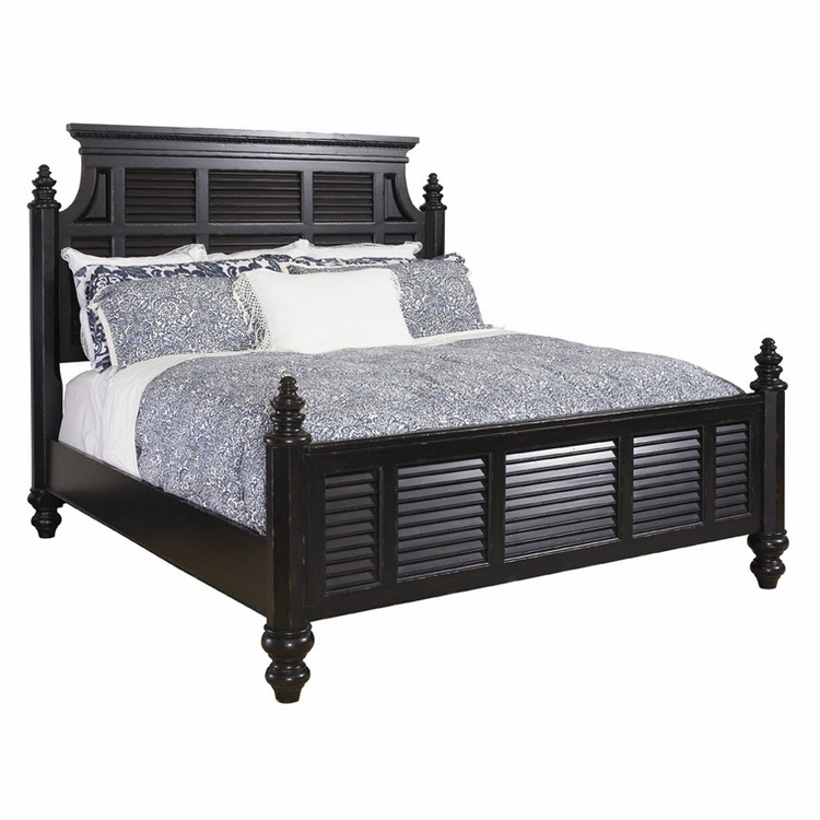 Tommy Bahama Home - Kingstown Malabar Queen Panel Bed - 01-0619-133C