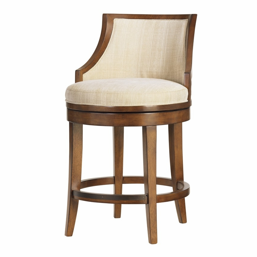 Marvelous Tommy Bahama Home Ocean Club Cabana Swivel Counter Stool 01 0536 815 01 Unemploymentrelief Wooden Chair Designs For Living Room Unemploymentrelieforg