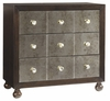 Tommy Bahama Home - Royal Kahala Starlight Mirrored Nightstand - 01-0537-624