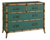 Tommy Bahama Home - Twin Palms Pacific Teal Chest - 01-0560-624