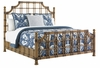 Tommy Bahama Home - Twin Palms St. Kitts California King Rattan Bed - 01-0558-145c