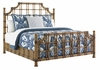 Tommy Bahama Home - Twin Palms St. Kitts King Rattan Bed - 01-0558-144c