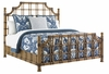 Tommy Bahama Home - Twin Palms St. Kitts Queen Rattan Bed - 01-0558-143c
