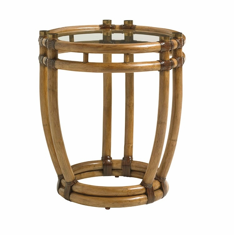 Tommy Bahama Home Twin Palms Turtle Beach End Table 01