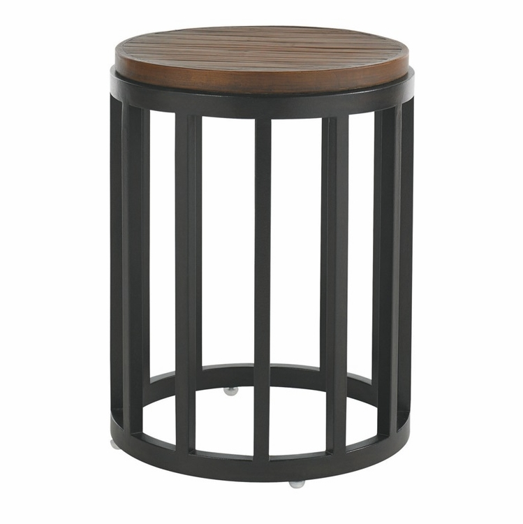 Tommy Bahama Outdoor Ocean Club Pacifica Accent Table With Weatherstone Top 01 3130 952