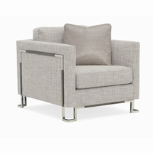 Transitional Accent Chairs by Caracole