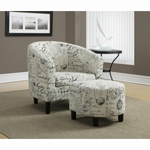 Transitional Accent Chairs by Monarch