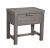 Vaughan Bassett - American Modern Bedside Table In Grey - 651-224