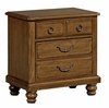 Vaughan Bassett - Arrendale Hedlund Nightstand In Antique Cherry - 440-226