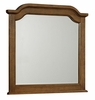 Vaughan Bassett - Arrendale Hedlund Arched Dresser Mirror In Antique Cherry - 440-446