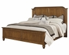 Vaughan Bassett - Arrendale King Mansion Bed In Antique Cherry - 440-668_866_922_MS-MS1