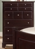 Vaughan Bassett - Barnburner Chest 5 Drawers In Merlot - BB4-115