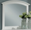 Vaughan Bassett - Barnburner Landscape Mirror In Snow White - BB6-446