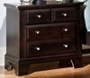 Vaughan Bassett - Barnburner Nightstand In Merlot - BB4-226