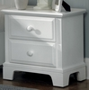 Vaughan Bassett - Barnburner Night Stand 2 Drawers In Snow White - BB6-224