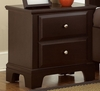 Vaughan Bassett - Barnburner Night Stand In Merlot - BB4-224