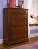 Vaughan Bassett - Cottage Chest 5 Drawers In Cherry - BB19-115