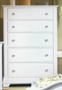 Vaughan Bassett - Cottage Chest 5 Drawers In Snow White - BB24-115