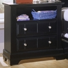 Vaughan Bassett - Cottage Commode 2 Drawers And Shelf In Black - BB16-227