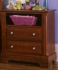 Vaughan Bassett - Cottage Commode 2 Drawers And Shelf In Cherry - BB19-227
