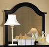 Vaughan Bassett - Cottage Landscape Mirror In Black - BB16-446