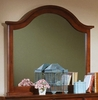 Vaughan Bassett - Cottage Landscape Mirror In Cherry - BB19-446
