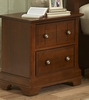 Vaughan Bassett - Cottage Night Stand 2 Drawers In Cherry - BB19-226
