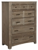 Vaughan Bassett - Cottage Too Chest In Grey - 72-115