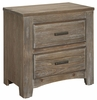 Vaughan Bassett - Cottage Too Night Stand In Grey - 72-226