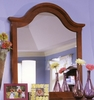 Vaughan Bassett - Cottage Vertical Mirror In Cherry - BB19-442