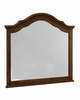 Vaughan Bassett - French Market Arched Mirror In French Cherry - 382-447