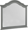 Vaughan Bassett - French Market Arched Mirror In Zinc - 381-447