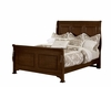 Vaughan Bassett - French Market King Sleigh Bed In Cherry - 382-661_166_922_MS-MS2